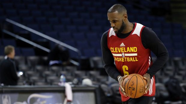 Basketball: Warriors wary of LeBron as Cavs arrive for NBA Finals