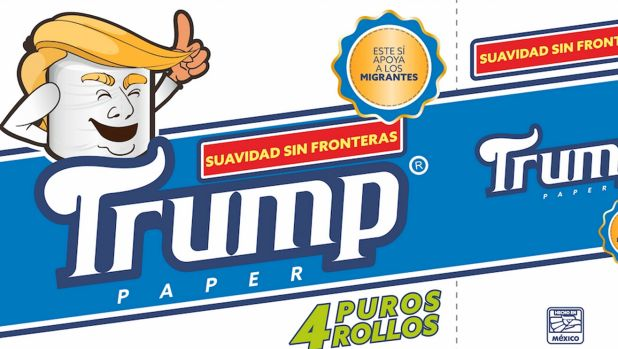 Feeling insulted, Mexican to market 'Trump' toilet paper