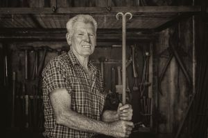 Volunteer Blacksmith, Fagan Park, Galston Photographer Jacqui Dean spent two months documenting the Sydney suburb of ...