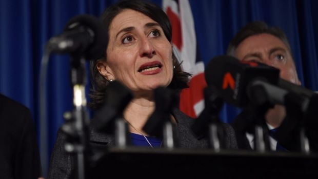 NSW Premier Gladys Berejiklian announced stamp duty cuts for first home buyers.