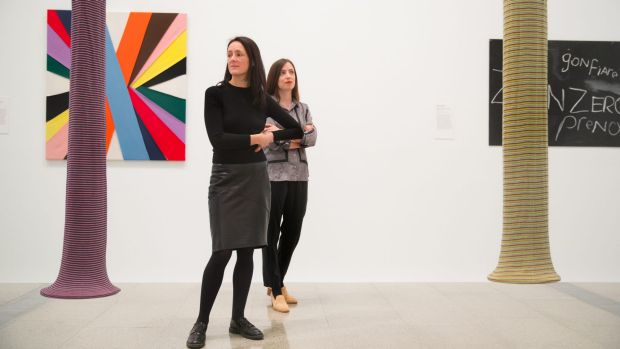 Jane Devery and Pip Wallis, co-curators of Every Brilliant Eye: Australian Art of the 1990s.
