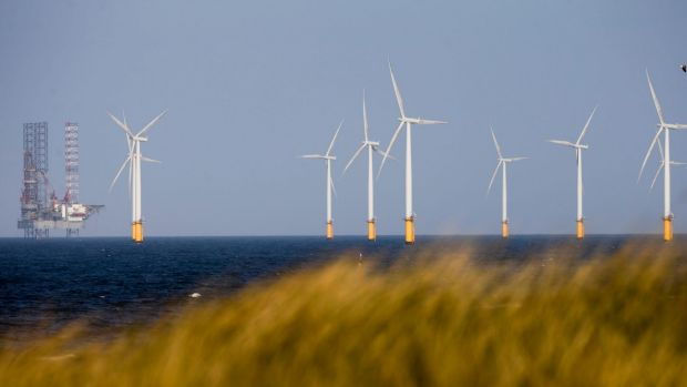 This offshore wind farm is in the North Sea near Hartlepool in the north-east of England.
