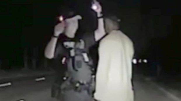 Police dashcam footage shows Tiger Woods arrest in Florida