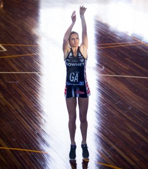 Mitch's wife Shae Brown, now plays for Collingwood in the Super Netball competition.