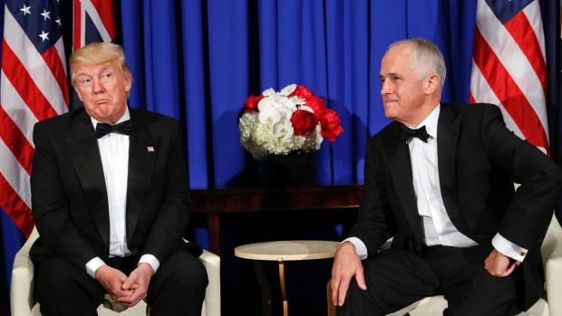 Donald Trump may or may not find Malcolm Turnbull's send-up funny - but who cares?