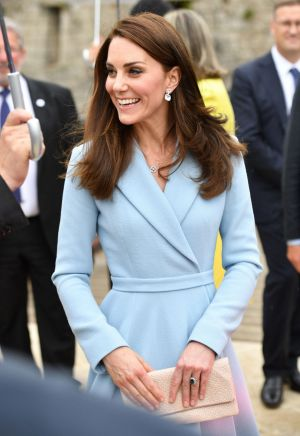 Catherine, Duchess of Cambridge always has a classic nail colour.