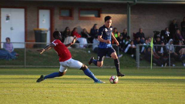 Jacob Italiano is hoping to score a professional contract when the FFA Centre of Excellence closes in August.