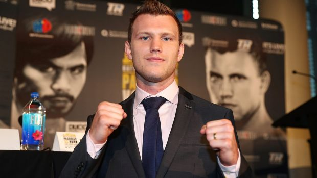"""The """"good guy"""": Jeff Horn understands his role in the lead-up to the bout."""