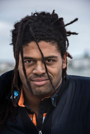 """Jamal Idris: """"From when I've travelled, I was lucky enough to learn about myself and live with white noise. This is a ..."""