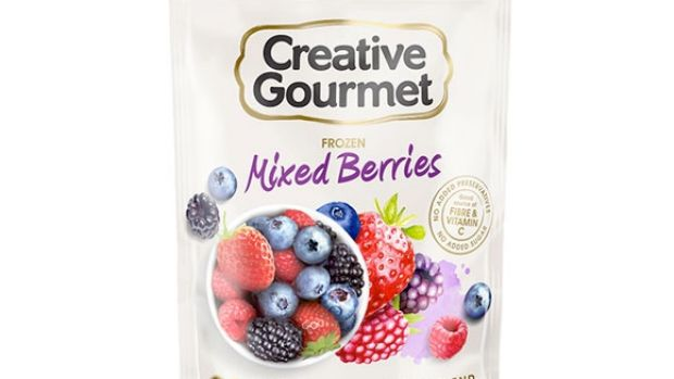 Creative Gourmet frozen berries are being pulled from shelves.