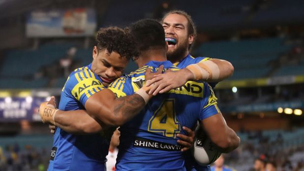 Follow along as Parramatta Eels host the St George-Illawarra Dragons.