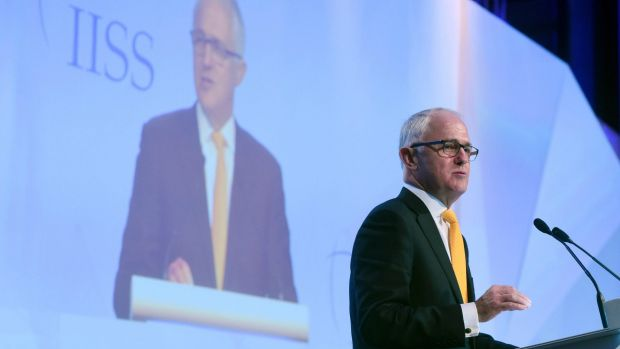 Australia's Turnbull in Singapore for official visit