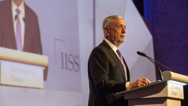 James Mattis says US  committed to Asian-Pacific nations
