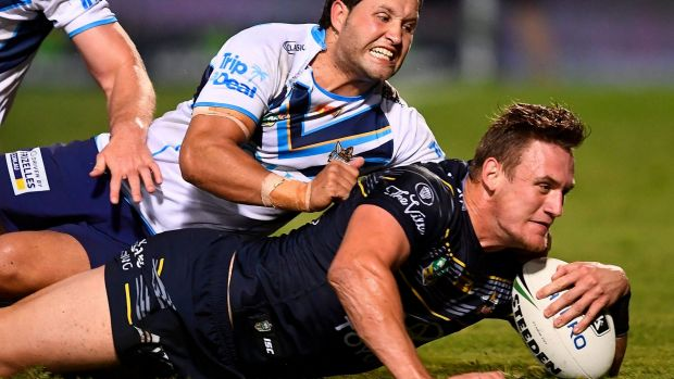 Queensland Cowboys shoot down Titans