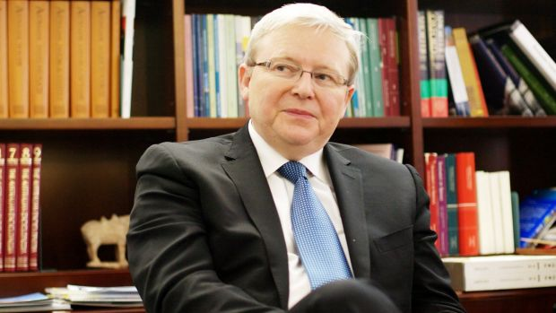 Former Australian prime minister Kevin Rudd has warned US President Donald Trump to err away from Twitter diplomacy when ...