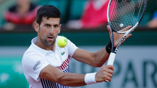 Novak Djokovic: rain delays stall action at Eastbourne International