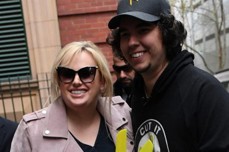 Rebel Wilson arrives at the Supreme Court in Melbourne on Monday.