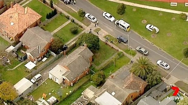 Woman arrested after baby found stabbed to death in Melbourne home