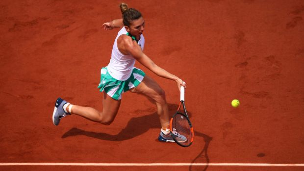 Romania's Simona Halep is in sizzling form at Roland Garros.