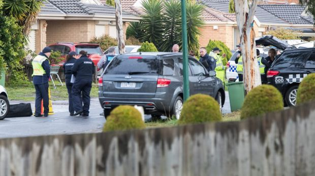 Police search the house Roxburgh Park house of Brighton gunman Yacqub Khayre