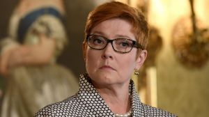 Defence Minister Marise Payne says she will discuss Australian troop numbers in Afghanistan with the US.
