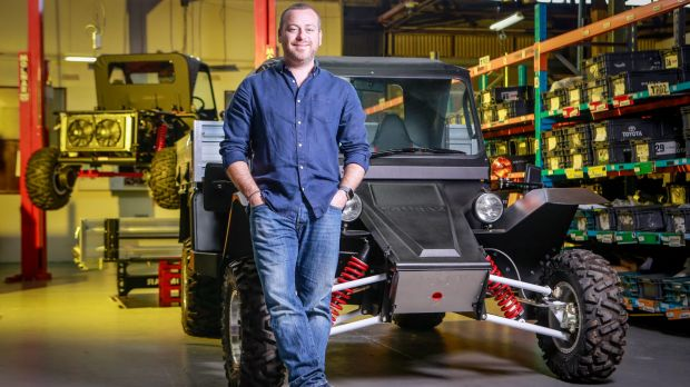Tomcar co-founder David Brim is confident about the future of manufacturing in Australia.
