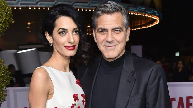 U.S. film star Clooney raises 2.25 million dollars to Syrian Refugees