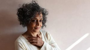 Arundhati Roy's long-awaited second novel, <i>The Ministry of Utmost Happiness</I>, has her back in contention for a ...