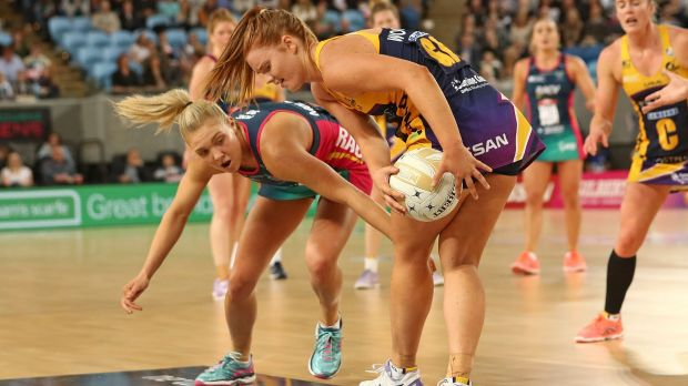Breakdown: The Vixens wavered in the dying moments of their semi against the Lightning.