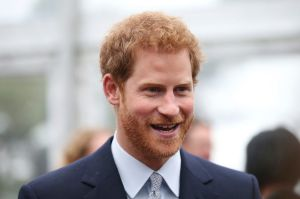 Britain's Prince Harry attends a function at Admiralty House in Sydney, Wednesday, June 7, 2017. Prince Harry is in ...