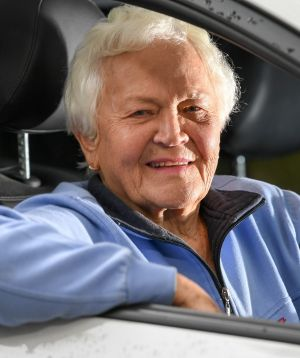 Shirley Bains is 85 and she has just passed her driving test.