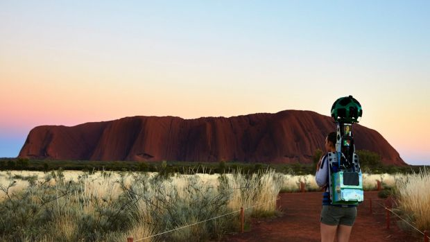 The new way to travel: Experience Uluru with Google's street-view