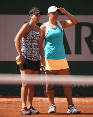 Barty (left) and Dellacqua have each come back from turbulent times.