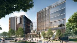 Artist impression of the new school at Fortitude Valley.