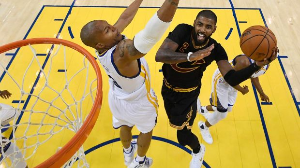 Defining Matchup: Klay Thompson baits Kyrie Irving