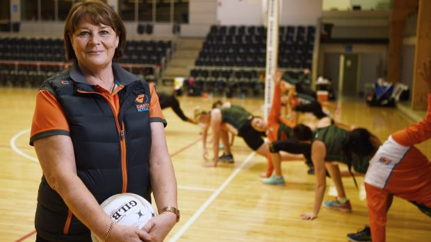 Super coach: Julie Fitzgerald has built the Giants around NSW juniors.