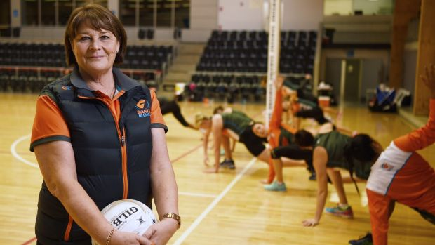 Super coach: Giants netball coach Julie Fitzgerald has used all of her tricks to keep her team on track.