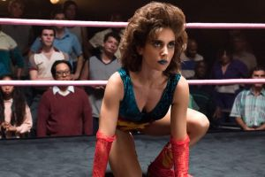 Dynamic energy: Alison Brie leads a mostly female cast.