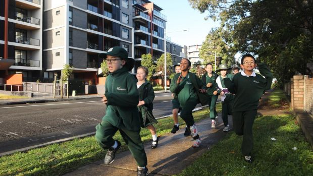 Students at Meadowbank Primary have one high school in their area, which is already bursting at the seams.