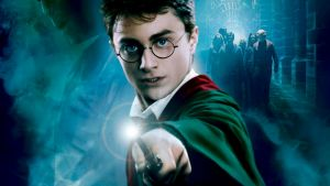 Daniel Radcliffe in the film Harry Potter and the Order of the Phoenix.