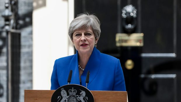 United Kingdom  leader May strikes tentative deal with N Ireland party