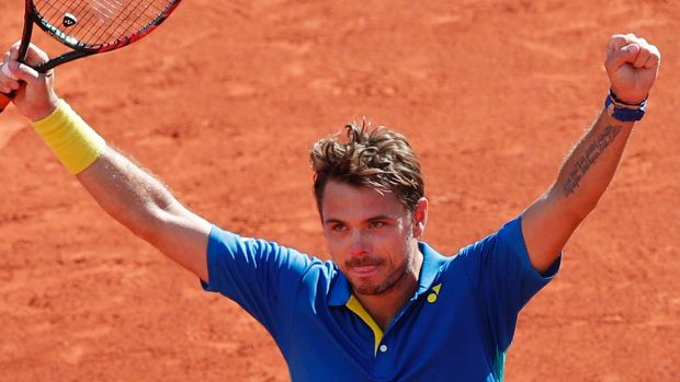 Obstacle: Stan Wawrinka will prove no easy-beat for Nadal in the final.