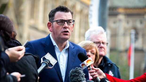 Premier Daniel Andrews had  a roughly 10 per cent lead over Mr Guy in Bentleigh, Mordialloc and Frankston.
