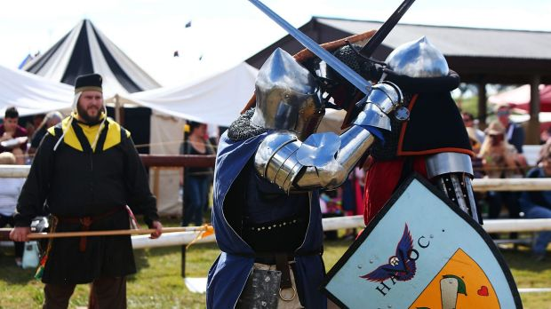 Queensland, Australian and international representatives arrived in Brisbane for the swordfighting tournament at the ...