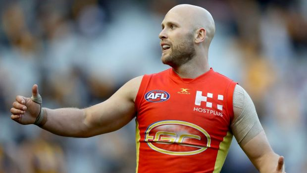 Gold Coast's Gary Ablett will have to delay his 300th game.