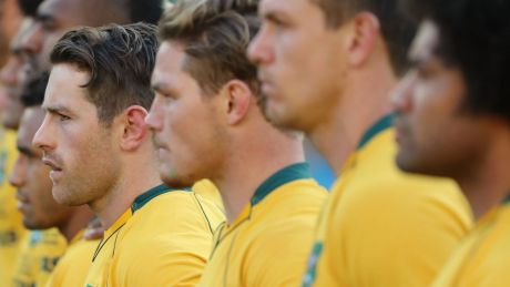 Pass mark: The rust was evident and expected but the Wallabies got their season off to a solid start against Fiji on ...