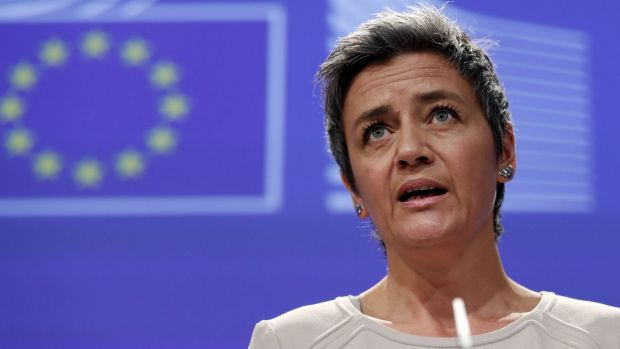 EU hits Google with record 2.42 bln euro antitrust fine (NWSA, INTC)