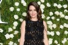 Tina Fey arrives at the 71st annual Tony Awards at Radio City Music Hall.