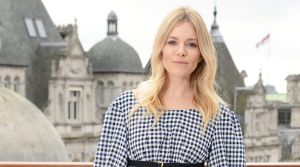 It's a cinch to wear gingham like Sienna Miller.