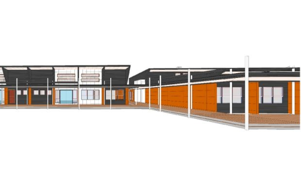 An artist impression of the new Taqwa School in Moncrieff.